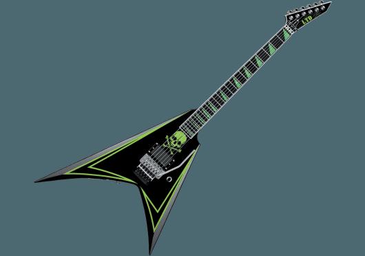 LTD Guitares Electriques ALEXI600-GR