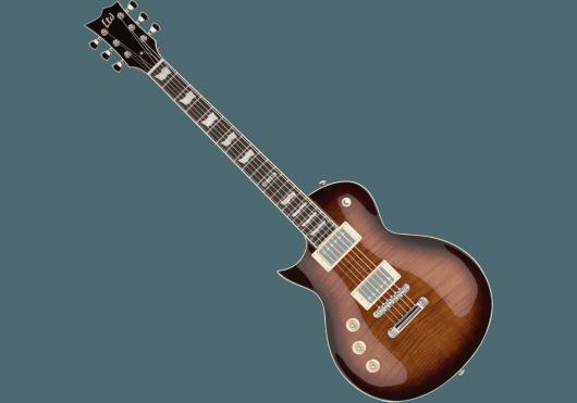 LTD Guitares Electriques EC256FMLH-DMSB