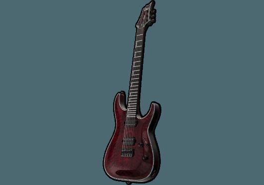 LTD Guitares Electriques H1001QM-STBC