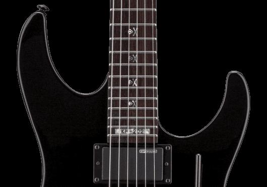 LTD Guitares Electriques KH202-BLK