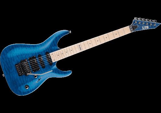 LTD Guitares Electriques MH103QM-STB