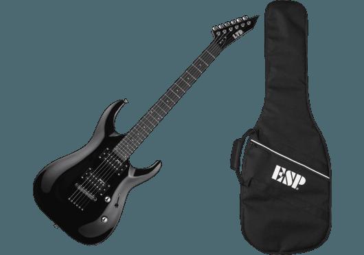 LTD Guitares Electriques MH10KIT-BLK