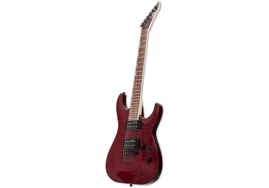 LTD Guitares Electriques MH200QMNT-STBC