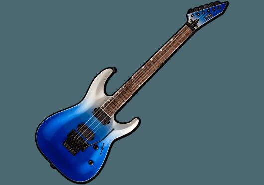 LTD Guitares Electriques MH400FR-BLUPFD
