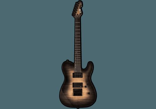 LTD Guitares Electriques TE1000ETFM-BLKNB