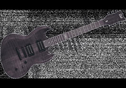 LTD Guitares Electriques V100F-STBLK