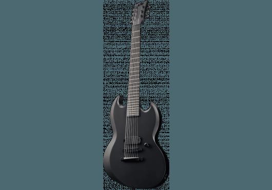 LTD Guitares Electriques VIPER7BKM-BLKS