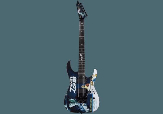 LTD Guitares Electriques WHITEZOMBIE