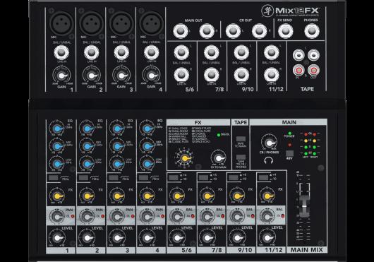 Mackie Consoles de mixage MIX12FX