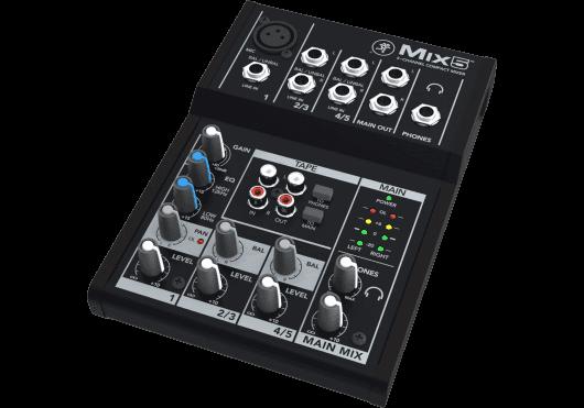 MACKIE Consoles de mixage MIX5