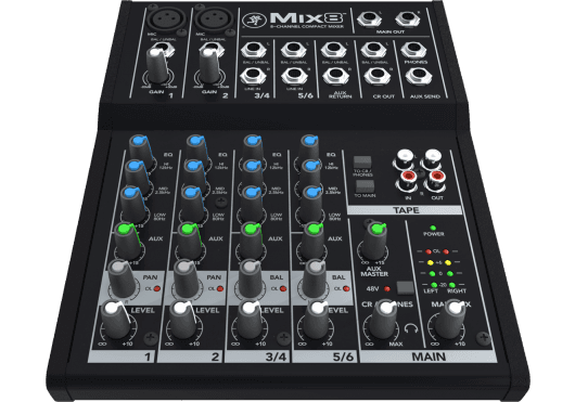 MACKIE Consoles de mixage MIX8