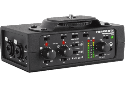 Marantz Pro CAPTURE ET ENREGISTREMENT PMD602A