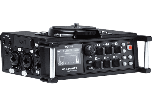 Marantz Pro CAPTURE ET ENREGISTREMENT PMD706