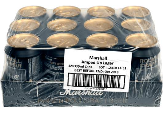 MARSHALL BEER AULAGER12X33C-DA