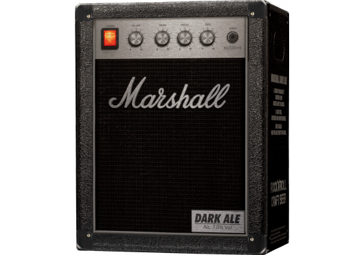 Marshall ROCK'N'ROLL CRAFT BEERS DARKALE6X33-DA