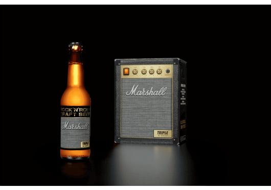 Marshall ROCK'N'ROLL CRAFT BEERS TRIPLE6X33-DA
