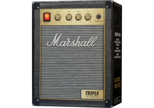Marshall ROCK'N'ROLL CRAFT BEERS TRIPLE6X33-DA