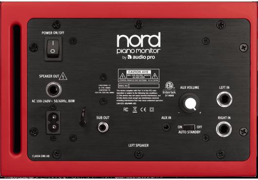 NORD Enceintes de proximité NP-MONITORV2