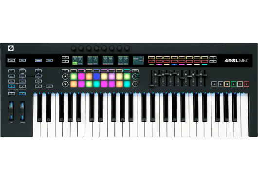 Novation Claviers maitres 49SLMK3