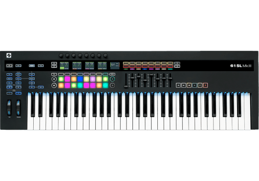 Novation Claviers maitres 61SLMK3
