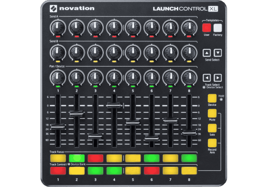 Novation SURFACES DE CONTRÔLE LAUNCH-CONTROL-XL-B