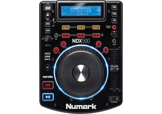 NUMARK Platines CD NDX500 - Dessus