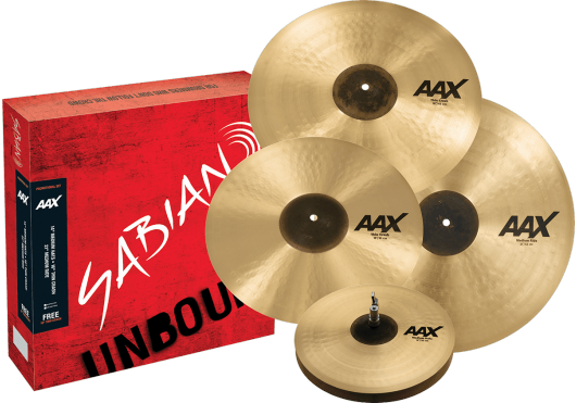 SABIAN Cymbales Batterie 25005XCP