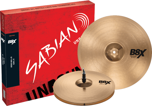 Sabian Cymbales Batterie 45011X