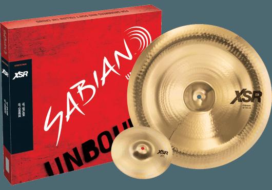 SABIAN Cymbales Batterie XSR5005EB