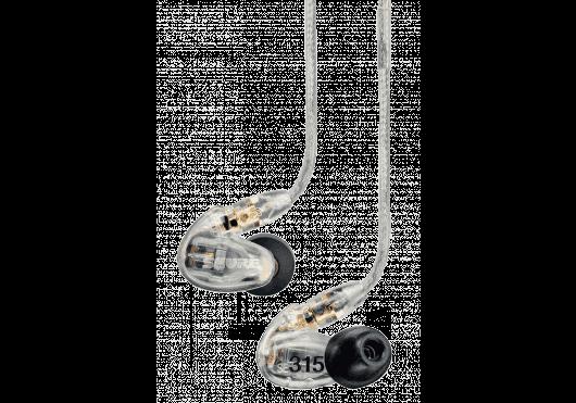 Shure Ecouteurs SE315-CL