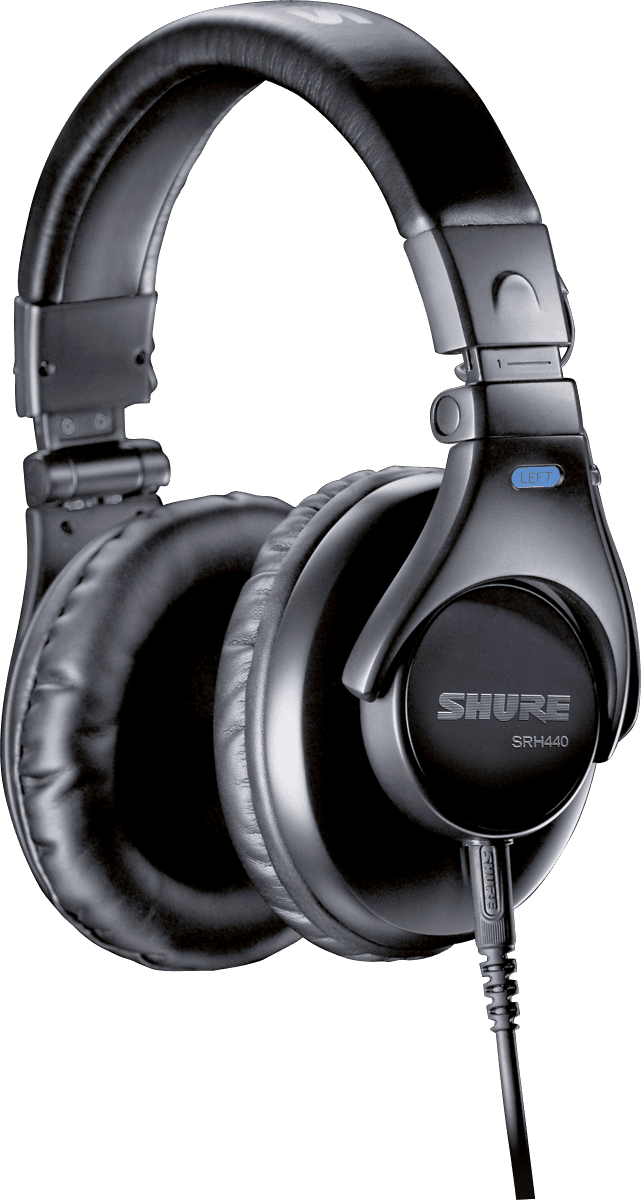 7e4416219e3 Shure - SRH440 - La Boite Noire du Musicien
