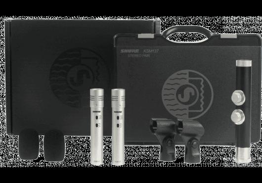 SHURE Micros de Studio KSM137SLSTEREO
