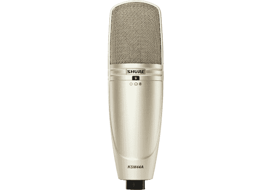 SHURE Micros de Studio KSM44A-SL