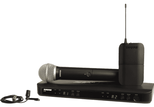 SHURE Systemes HF BLX1288E-CVL-M17