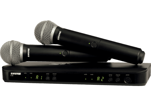 SHURE Systemes HF BLX288E-PG58-M17