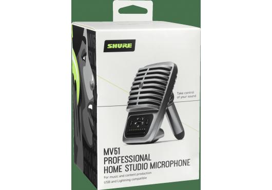 SHURE Micros Numériques MV51-DIG