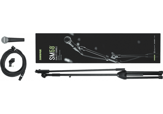 SHURE Micros filaires SM58-KM-SOM