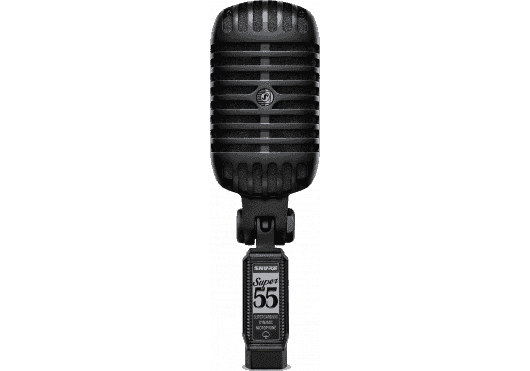 Shure Micros filaires SUPER55-BLK