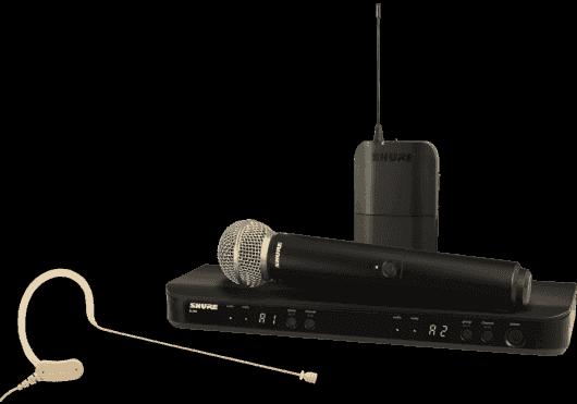 SHURE Systemes HF BLX1288E-MX53-M17