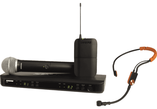 SHURE Systemes HF BLX1288E-SM31-M17