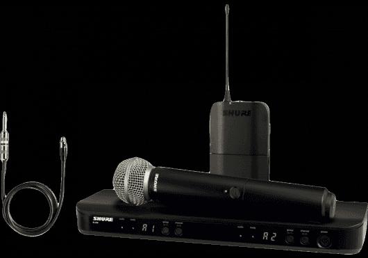 Shure SYSTEMES HF BLX1288E-SM58-M17