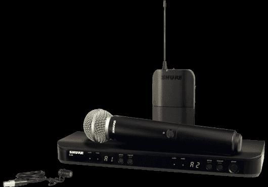 Shure SYSTEMES HF BLX1288E-W85-M17