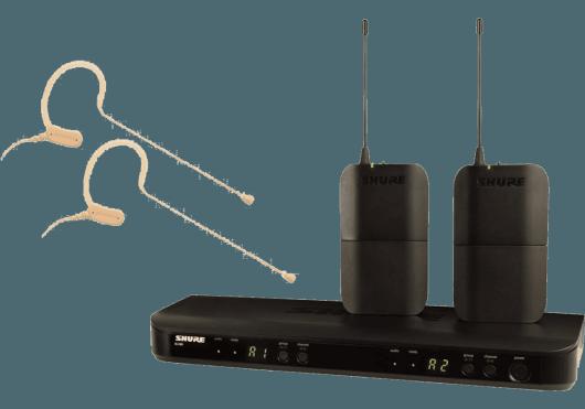 Shure SYSTEMES HF BLX188E-MX53-M17