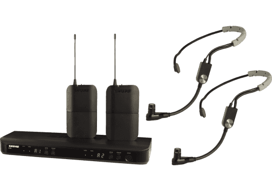 Shure SYSTEMES HF BLX188E-SM35-M17