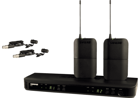 Shure SYSTEMES HF BLX188E-W85-M17
