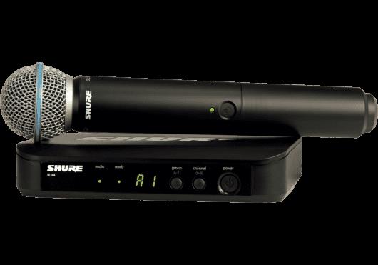 Shure SYSTEMES HF BLX24E-B58-M17