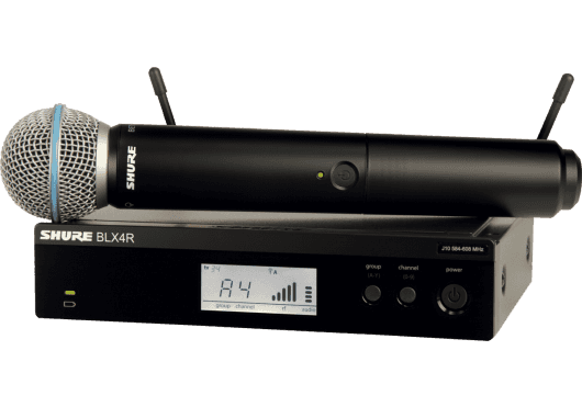 SHURE Systemes HF BLX24RE-B58-M17
