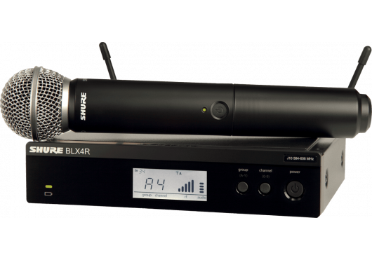SHURE Systemes HF BLX24RE-SM58-M17