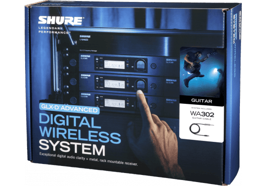Shure SYSTEMES HF GLXD14RE-Z2 - Packaging