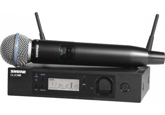 SHURE Systemes HF GLXD24RE-B58-Z2